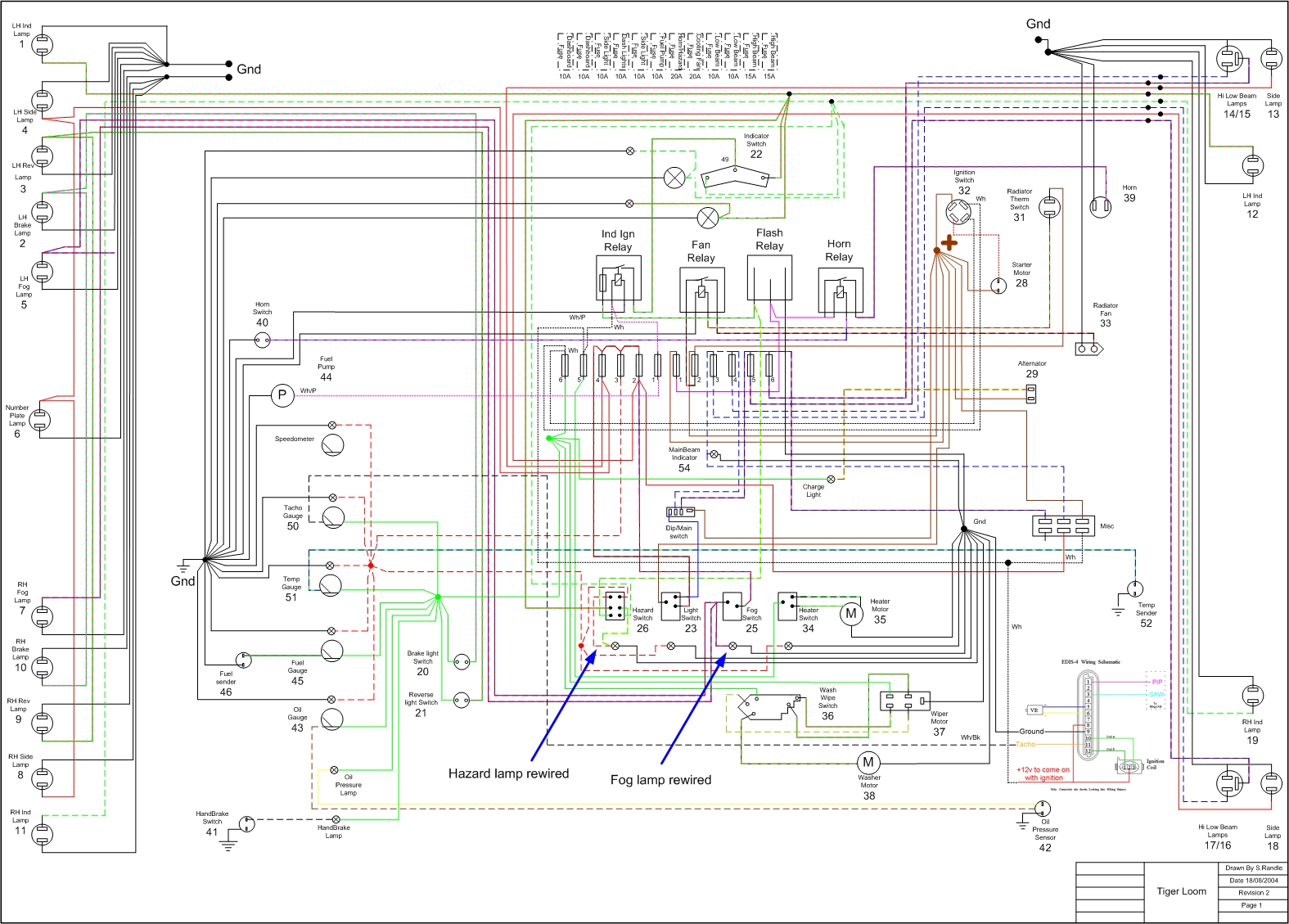 Electrical Wiring Diagram 2001 Yzf R6 | Wiring Liry on